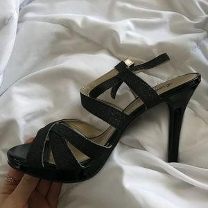 Black Strappy Heels - Perfect for Prom!!!